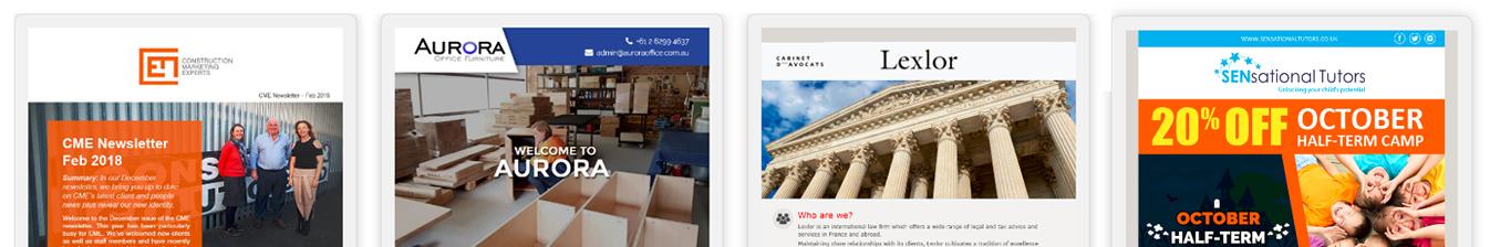 HTML Newsletter Banner